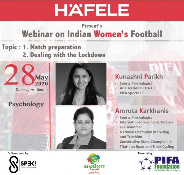 Sports Psychology Session with Kunashni Parikh, PIFA Foundation - Sponsored by Hafele India