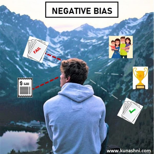 Negative memory bias