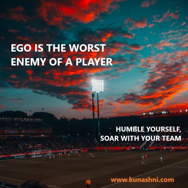 Ego in Sports Athletes