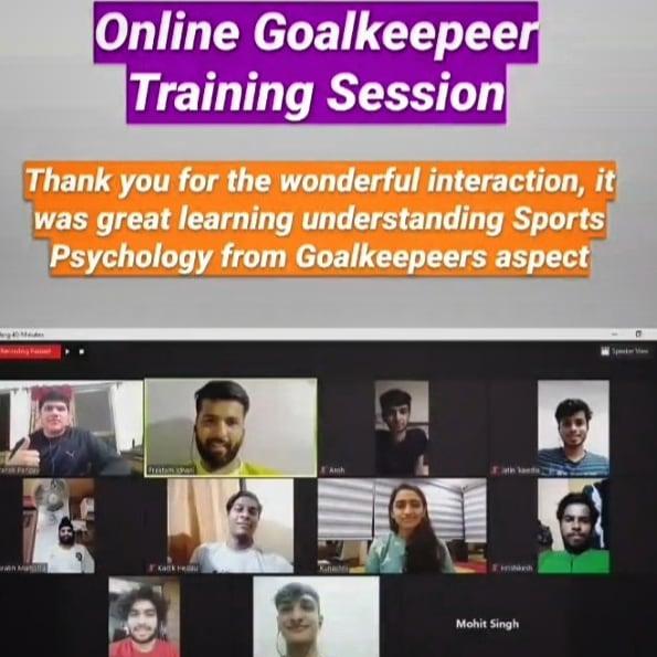 Group Photo Webinar - Premier Goalkeepers Academy - The Mind of a Goalkeeper