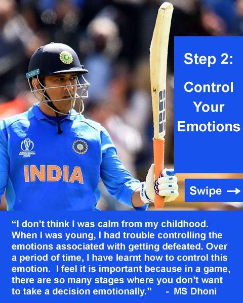 Calm like Captain MS Dhoni - Kunashni Parik Sport Psychologist -3