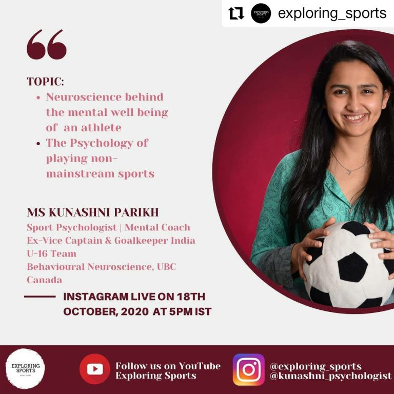 Neuroscience of Athlete Mental Well-being and Psychology of Playing Non-Mainstream Sports - with Sport Psychologist Kunashni Parikh