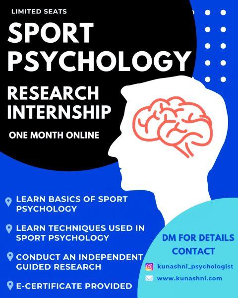 Sport Psychology Research Internship - Kunashni Psychologist