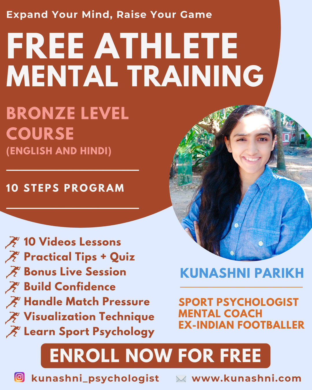 Free Athlete Mental Training Course – Bronze