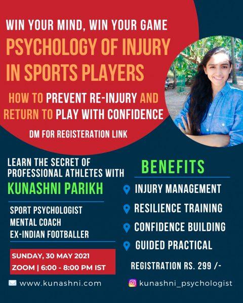 Psychology of Injury - Sport Psychology - Kunashni Parikh